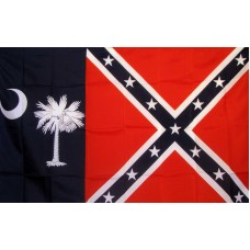 Rebel South Carolina 3'x 5' Novelty Flag