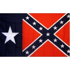 Rebel Texas 3'x 5' Novelty Flag