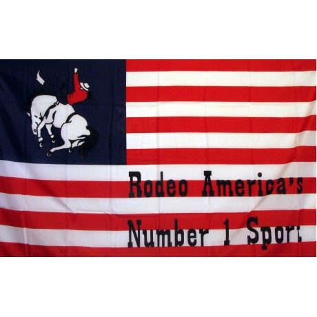 US Rodeo #1 Historical 3'x 5' Flag