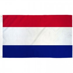 Red White Blue Stripes 3'x 5' Business Flag