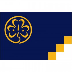 Scouts Girl 3'x 5' Novelty Flag