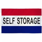 Self Storage Patriotic 3' x 5' Polyester Flag