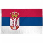Serbia 3' x 5' Polyester Flag
