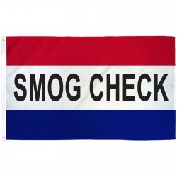 Smog Check Patriotic 3' x 5' Polyester Flag
