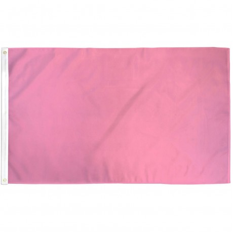Solid Pink 3' x 5' Polyester Flag