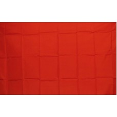 Solid Red 3'x 5' Flag