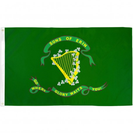 Son of Erin 3' x 5' Polyester Flag