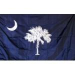 South Carolina 3'x 5' Solar Max Nylon State Flag