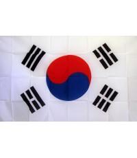 South Korea 3'x 5' Polyester Flag
