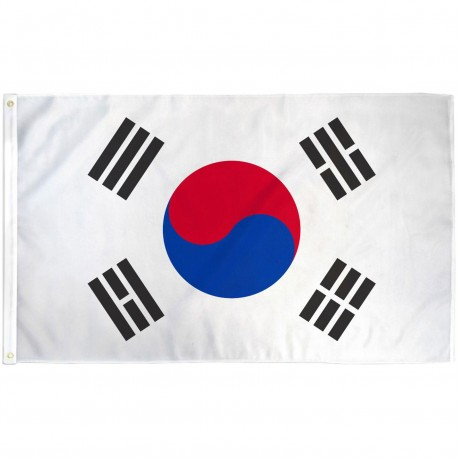 South Korea 3' x 5' Polyester Flag