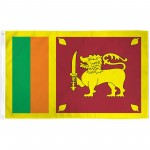 Sri Lanka 3'x 5' Country Flag