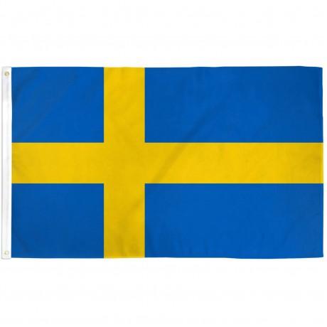 Sweden 3' x 5' Polyester Flag