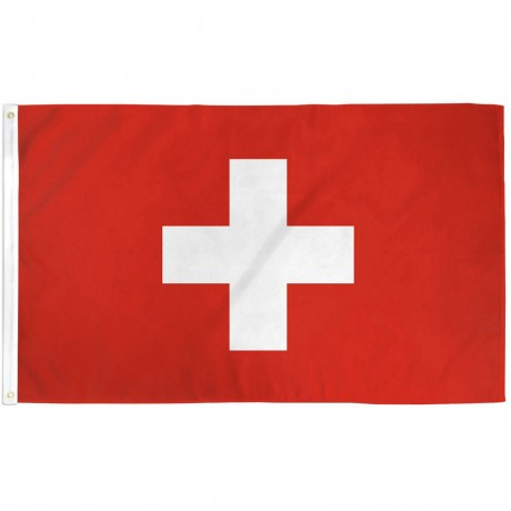 Switzerland 3' x 5' Polyester Flag