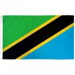 Tanzania 3'x 5' Country Flag