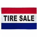 Tire Sale 3' x 5' Polyester Flag