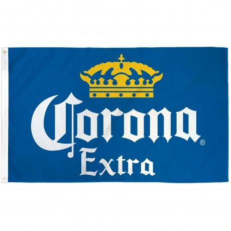 Corona Extra Blue 3' x 5' Polyester Flag