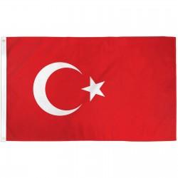Turkey 3'x 5' Country Flag
