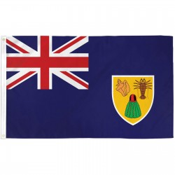 Turks & Caicos Islands 3'x 5' Country Flag