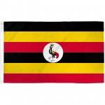 Uganda 3'x 5' Country Flag