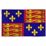 English Royal Standard 3'x 5' Country Flag