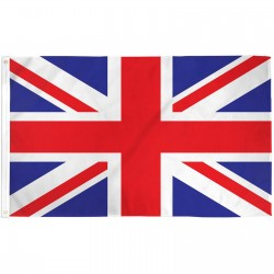 UK Union Jack 3'x 5' Country Flag