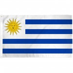Uruguay 3'x 5' Country Flag