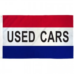 Used Cars Patriotic 3' x 5' Polyester Flag