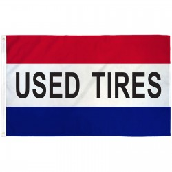 Used Tires 3' x 5' Polyester Flag