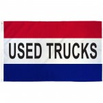 Used Trucks Patriotic 3' x 5' Polyester Flag