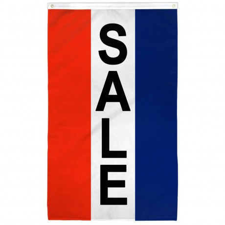 Sale Vertical 3' x 5' Polyester Flag