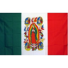 Virgin Lady of Guadalupe Religious 3'x 5' Flag