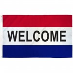 Welcome 3'x 5' Business Flag