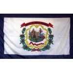 West Virginia 3'x 5' Solar Max Nylon State Flag