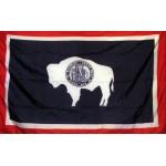 Wyoming 3'x 5' Solar Max Nylon State Flag