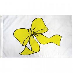 Yellow Ribbon 3'x 5' Novelty Flag