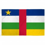Central Africa 3' x 5' Polyester Flag