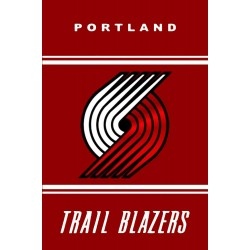 Portland Trail Blazers Vertical 3' x 5' Polyester Flag