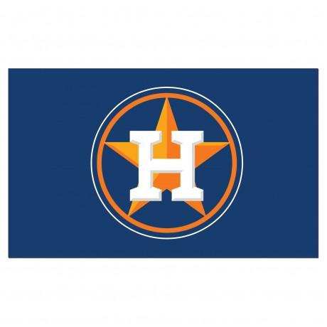 Houston Astros 3'x 5' Baseball Flag