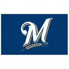 Milwaukee Brewers 3'x 5' Baseball Flag