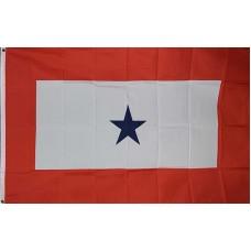 Blue Star Service 3' x 5' Polyester Flag