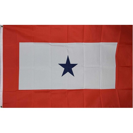 Blue Star Service 3' x 5' Polyester Flag