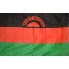 Malawi 3' x 5' Polyester Flag