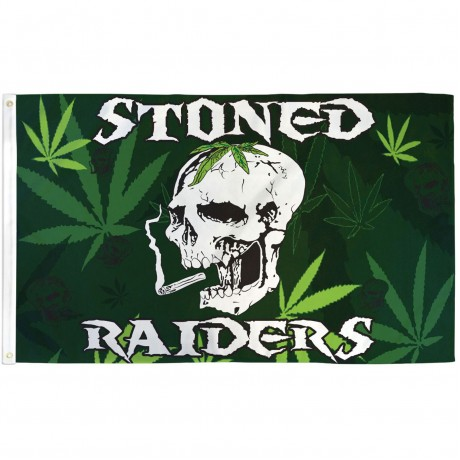 Stoned Raiders 3' x 5' Polyester Flag