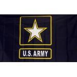 Army Star of One 2'x 3' Economy Flag