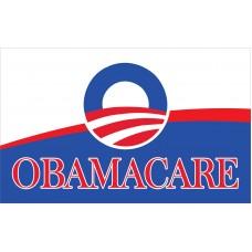 Obamacare 3' X 5' Flag