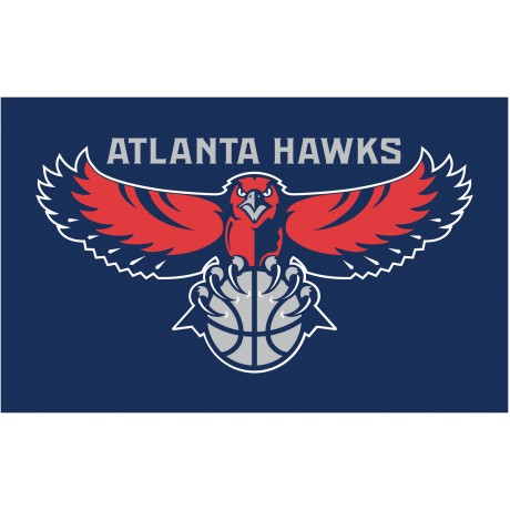 Atlanta Hawks 3'x 5' NBA Flag