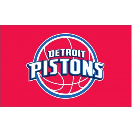 Detroit Pistons 3'x 5' NBA Flag