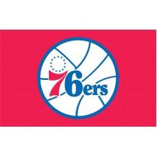 Philadelphia 76ers 3'x 5' NBA Flag