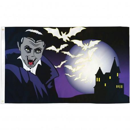 Vampire Castle 3' x 5' Polyester Flag