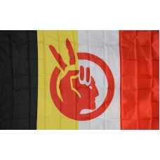 American Indian Movement Polyester 3' x 5' Flag